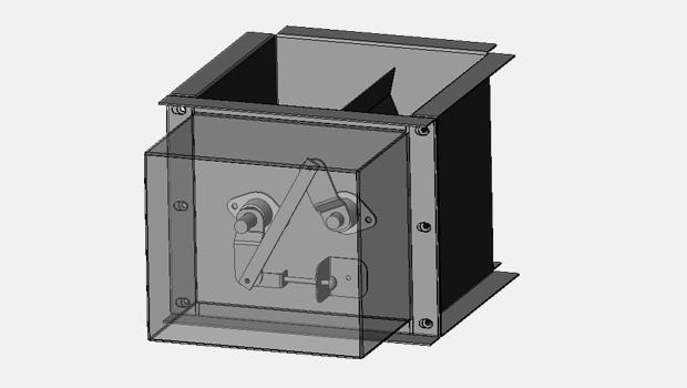 Halton MBD manual balancing damper