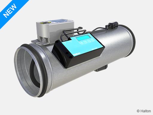 Ultrasound airflow damper
