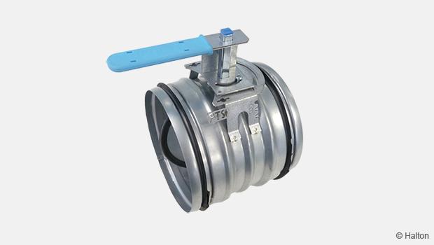 Single-blade airflow management, Halton PTS