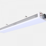 Exposed installation beam