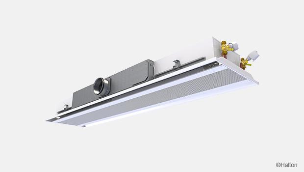 Variable air volume beam