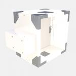 Multi compartment damper