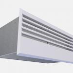 supply air wall diffuser
