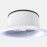 Swirl diffuser high spaces