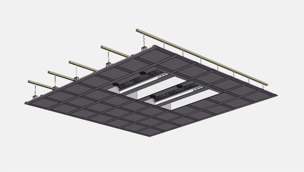 VCS Ventilated Ceiling System