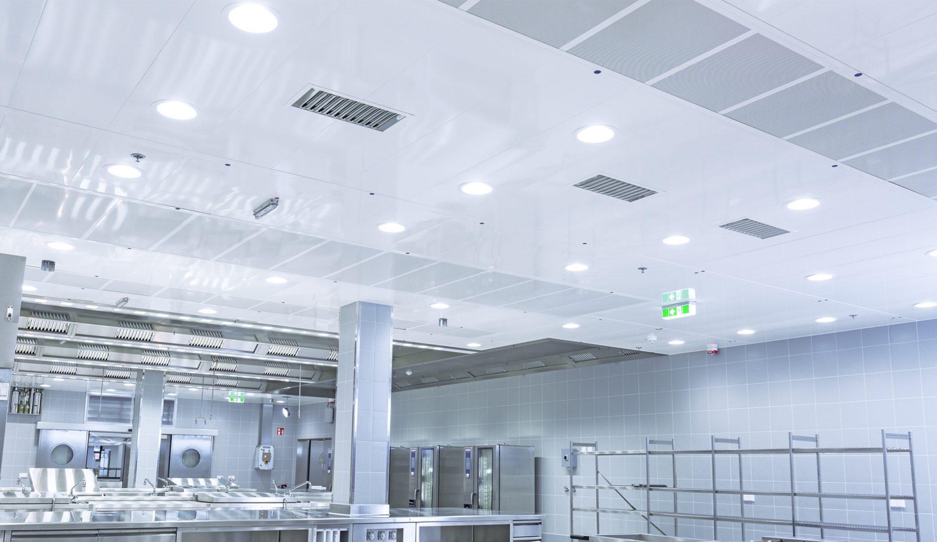 LFU kitchen laminar flow diffuser