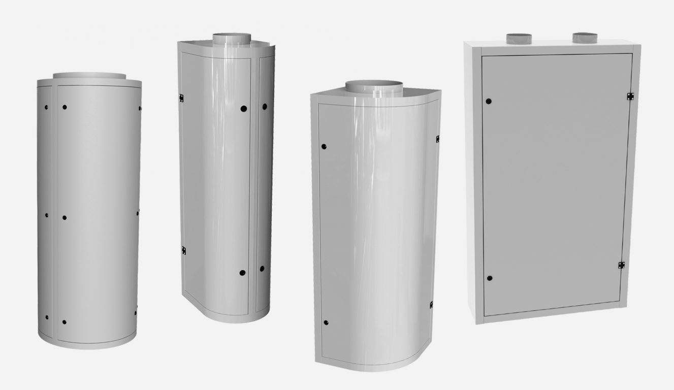 LVU low velocity diffusers for kitchens