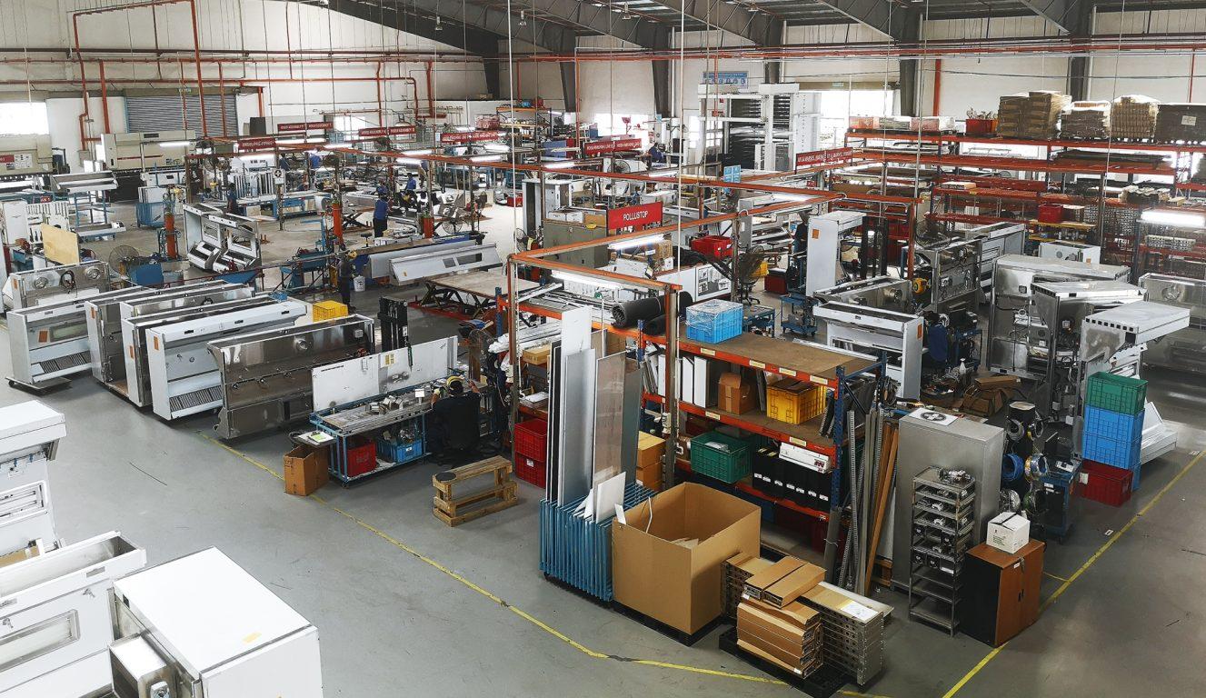 Halton Innovationszentrum - Malaysia - Selangor - Produktionsansicht 2
