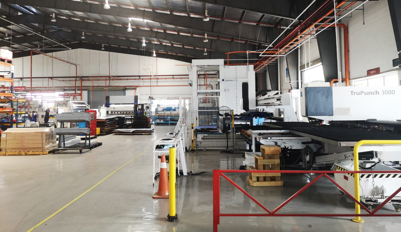 Halton Innovationszentrum - Malaysia - Selangor - Produktionsansicht 1