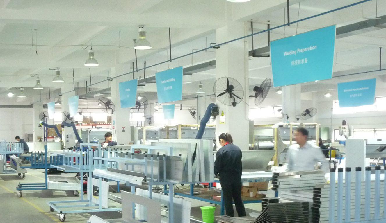 Halton Innovation Hub - China - Shanghai - Production view 2