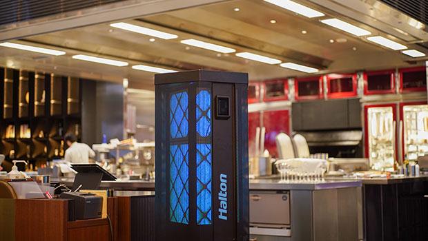 Test Kitchen H Tokyo has chosen Halton Solutions for the ventilation of their kitchen