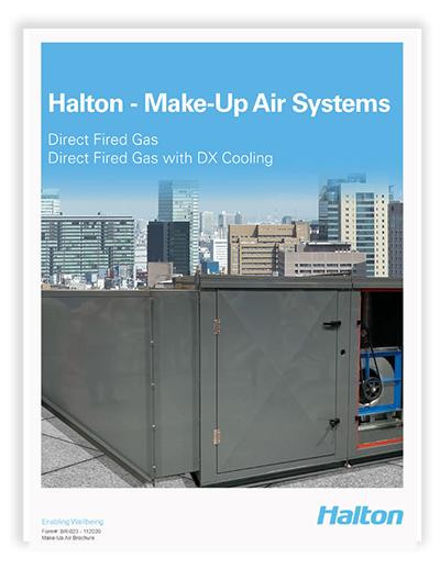 Downloads Halton's Brochure for Make-Up Air Units
