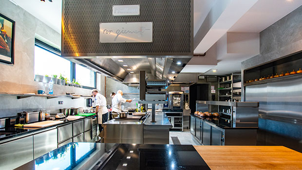 Giewont has chosen Halton Solutions for the ventilation of their kitchen