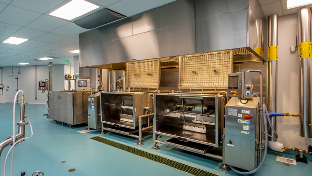 Exhaust Hoods used for Food Processing Kitchen Ventilation