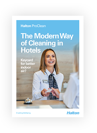 The Modern Way of Cleaning in Hotels Booklet Cover