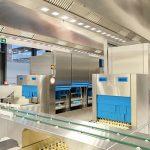 DB Brick Frankfurt has chosen Halton Solutions for the ventilation of their kitchen
