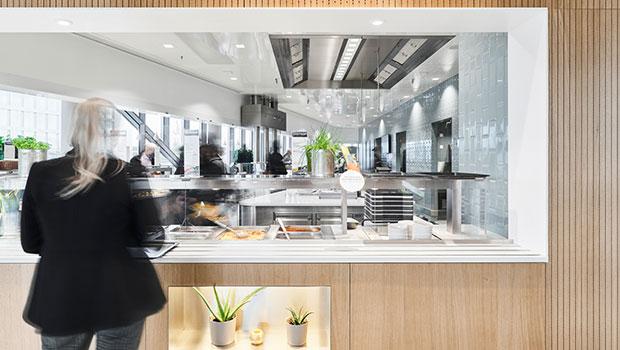 Knorr-Bremse Munich has chosen Halton Solutions for the ventilation of their kitchen