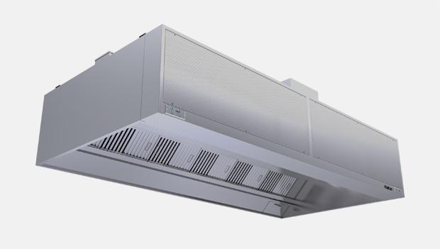 Halton Capture Ray KVC-UV Kitchen Exhaust Hood with UV