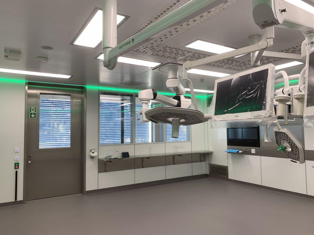 Cantonal Hospital Graubünden in Chur with Halton Vita OR Space