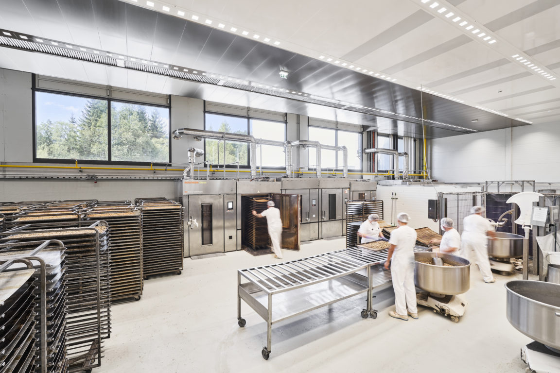 Biologon has chosen Halton Solutions for the ventilation of their food processing facility